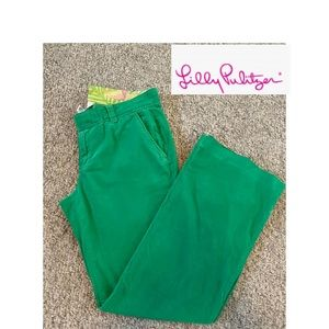 Lilly Pulitzer size 4 wide legged corduroy pants